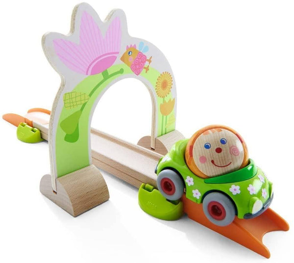 HABA Kullerbu Accessory Set - Flower Power Arch with Ball Betty & Flower Convertible
