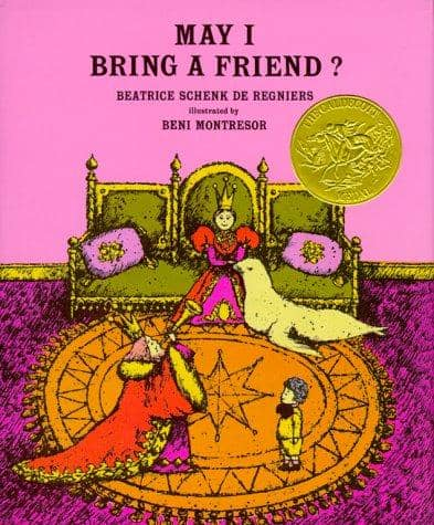 May I Bring A Friend? (Hardcover)