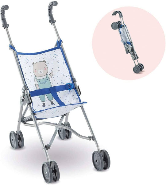 Blue Umbrella Stroller Corolle Mon Grand Poupon (14 & 17 Inch)