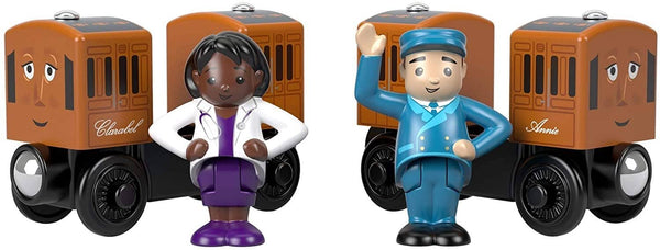 Thomas & Friends Wooden Railway: Annie & Clarabel