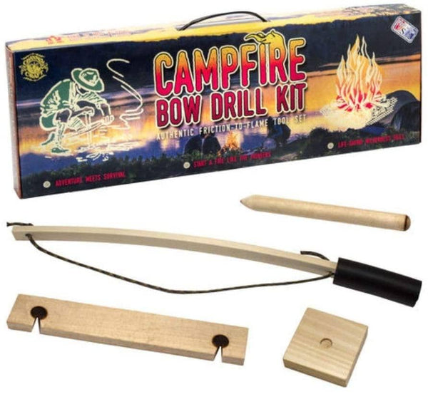Campfire Bow Drill Kit-Kidding Around NYC