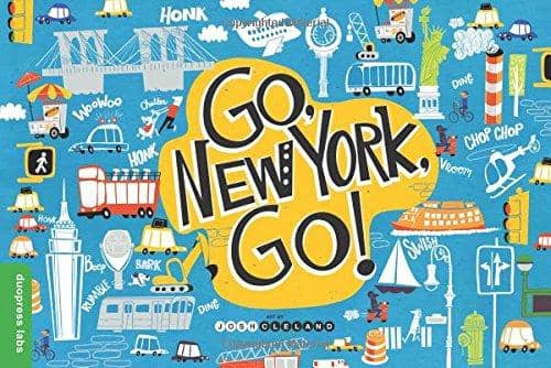 Go, New York, Go! (Board Book)-Kidding Around NYC