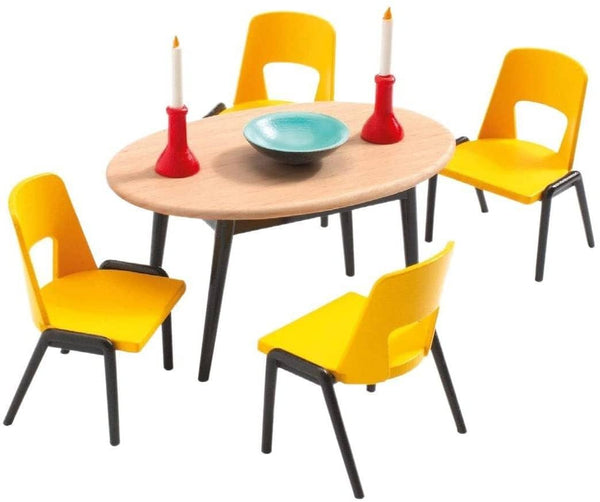 Dollhouse Dining Room Furniture-Kidding Around NYC