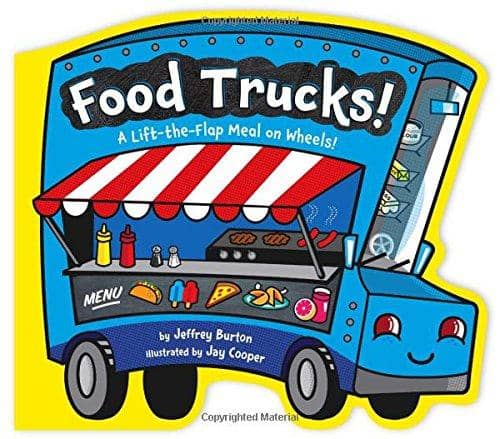 Food Trucks! (Board book)
