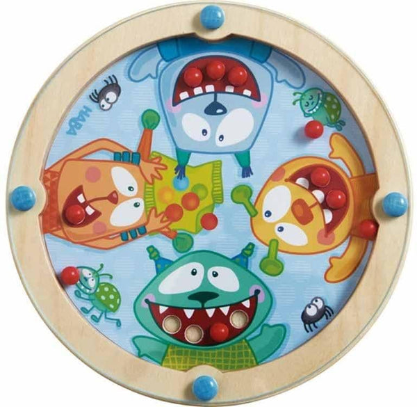 Game Of Skill: Mini Monster - Wooden Dexterity Game For Ages 2 And Up-Kidding Around NYC
