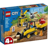 LEGO 60252: City: Construction Bulldozer (126 Pieces)