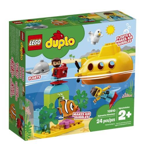 LEGO 10910: Duplo: Submarine Adventure (24 Pieces)