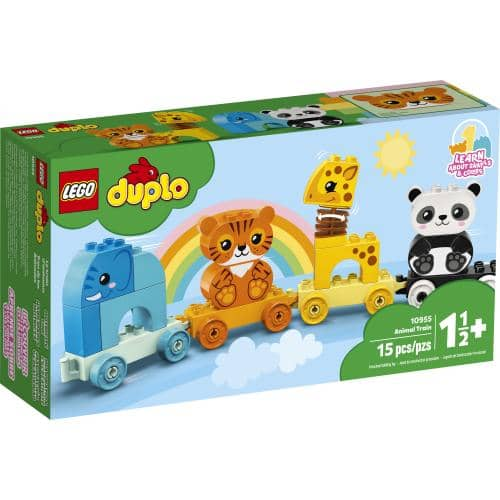 LEGO 10955: DUPLO: Animal Train (15 Pieces)