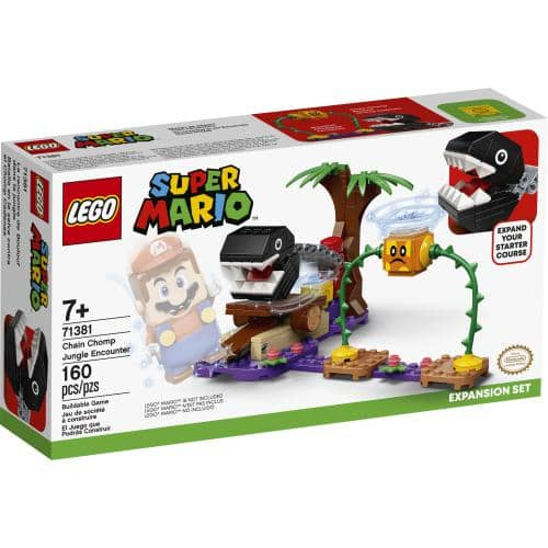 LEGO 71381: Mario: Chain Chomp Encounter Expansion (160 Pieces)