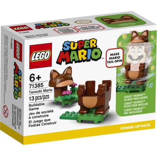 LEGO 71385: Mario: Tanooki Power Up Pack (10 Pieces)
