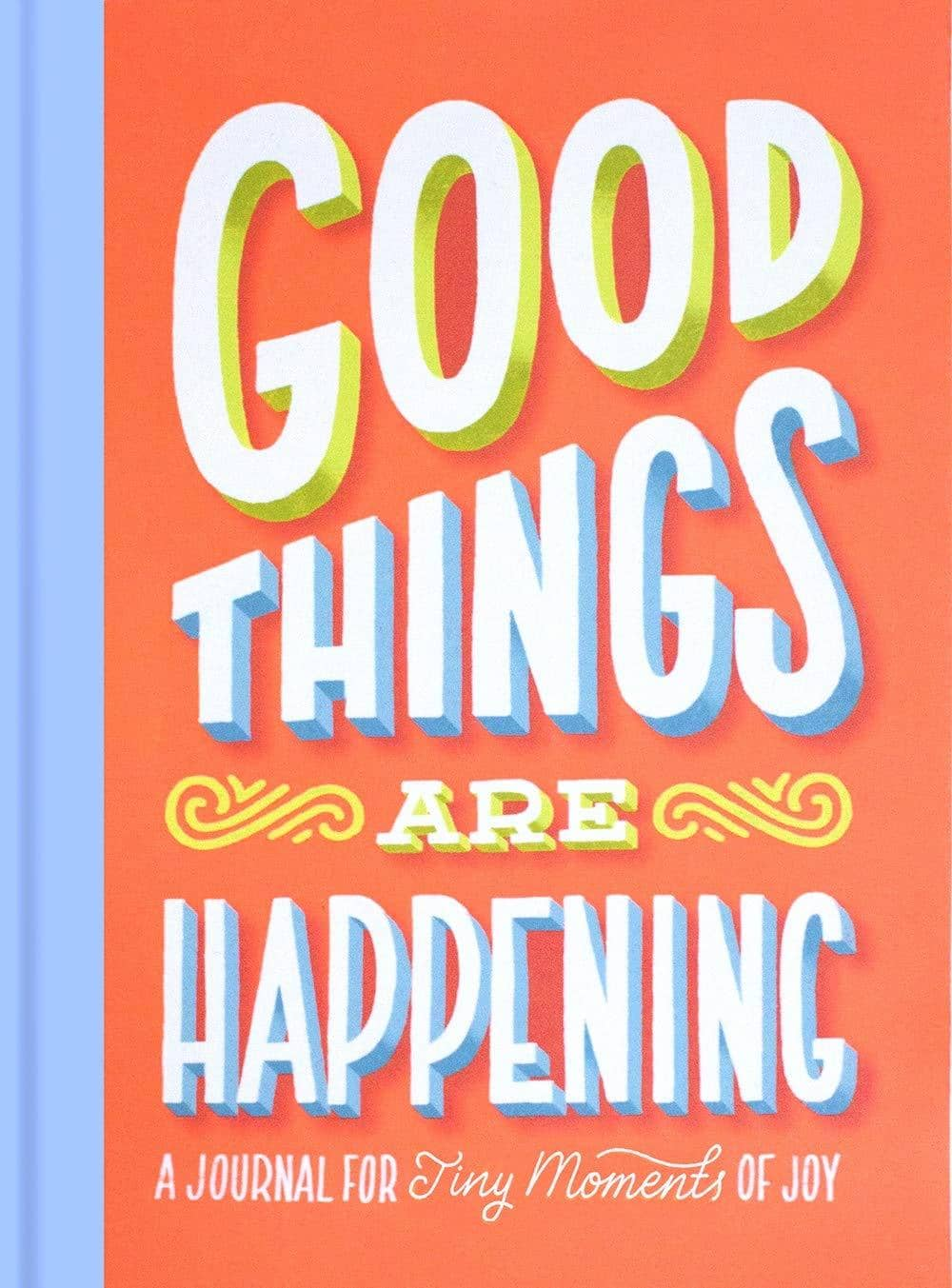 Good Things Are Happening Journal (Hardcover)-Kidding Around NYC