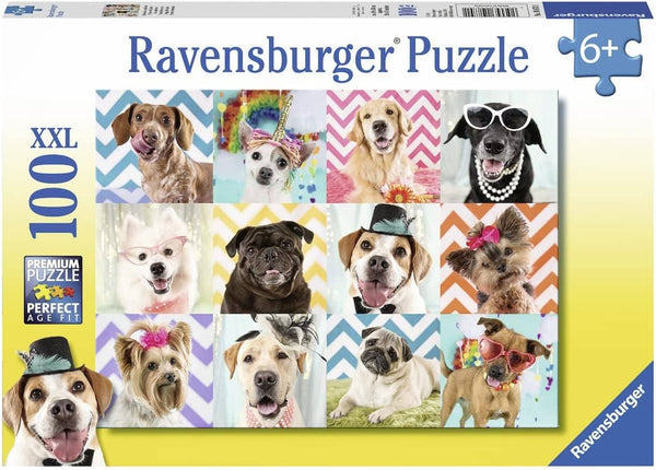 Ravensburger 10870 Doggy Disguise (100 Piece Jigsaw Puzzle)-Kidding Around NYC