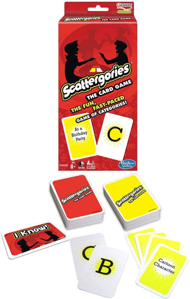 Scattergories Card Game-Kidding Around NYC