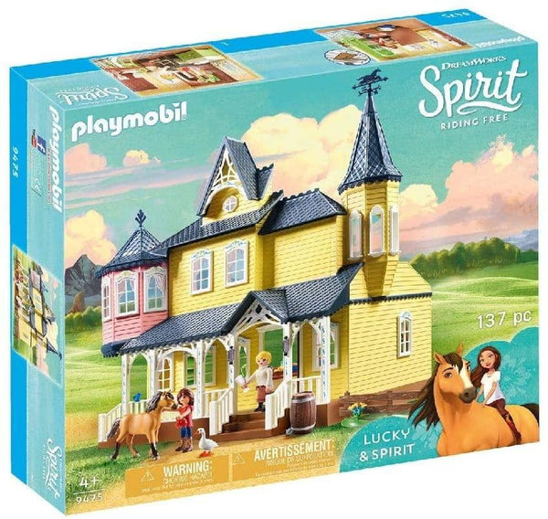 Spirit Riding Free Lucky's House Playset, Multicolor