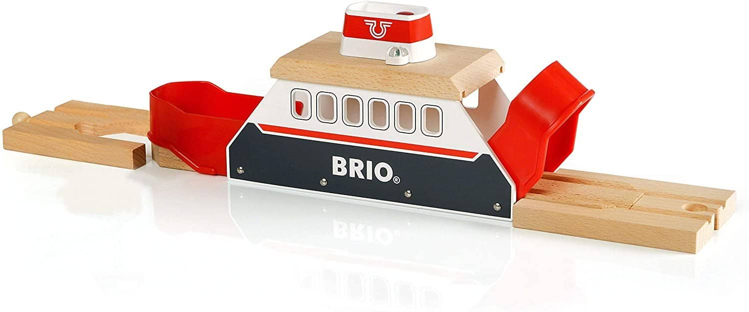 Brio World - 33569 Ferry Ship | 3 Piece Toy Train Accessory For Kids Ages 3 And Up-Kidding Around NYC