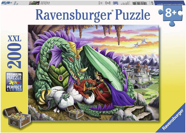 Ravensburger 12655: Queen Of Dragons (200 Piece Jigsaw Puzzle)-Kidding Around NYC