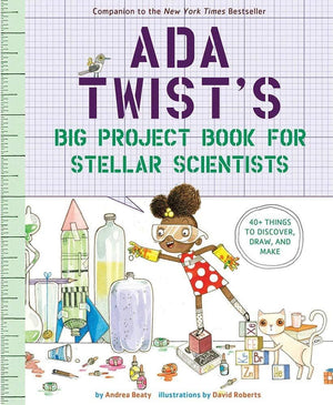 Ada Twists Big Project Book For Stellar Scientists Journal (Paperback)-Kidding Around NYC