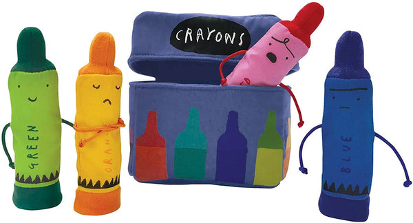 The Day The Crayons Quit Finger Puppets-Kidding Around NYC