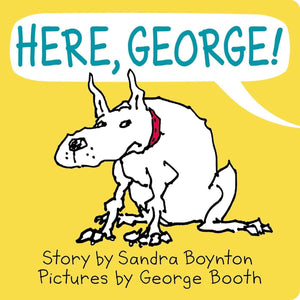 Here, George! (Board Book)-Kidding Around NYC