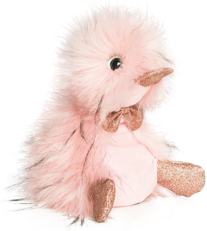 Doudou Et Compagnie Stuffed Animal Plush Duck-Ziggy Rose 8.7 Inches-Kidding Around NYC