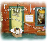 Sassafrass Jones And The Search For A Forever Home (Hardcover)-Kidding Around NYC