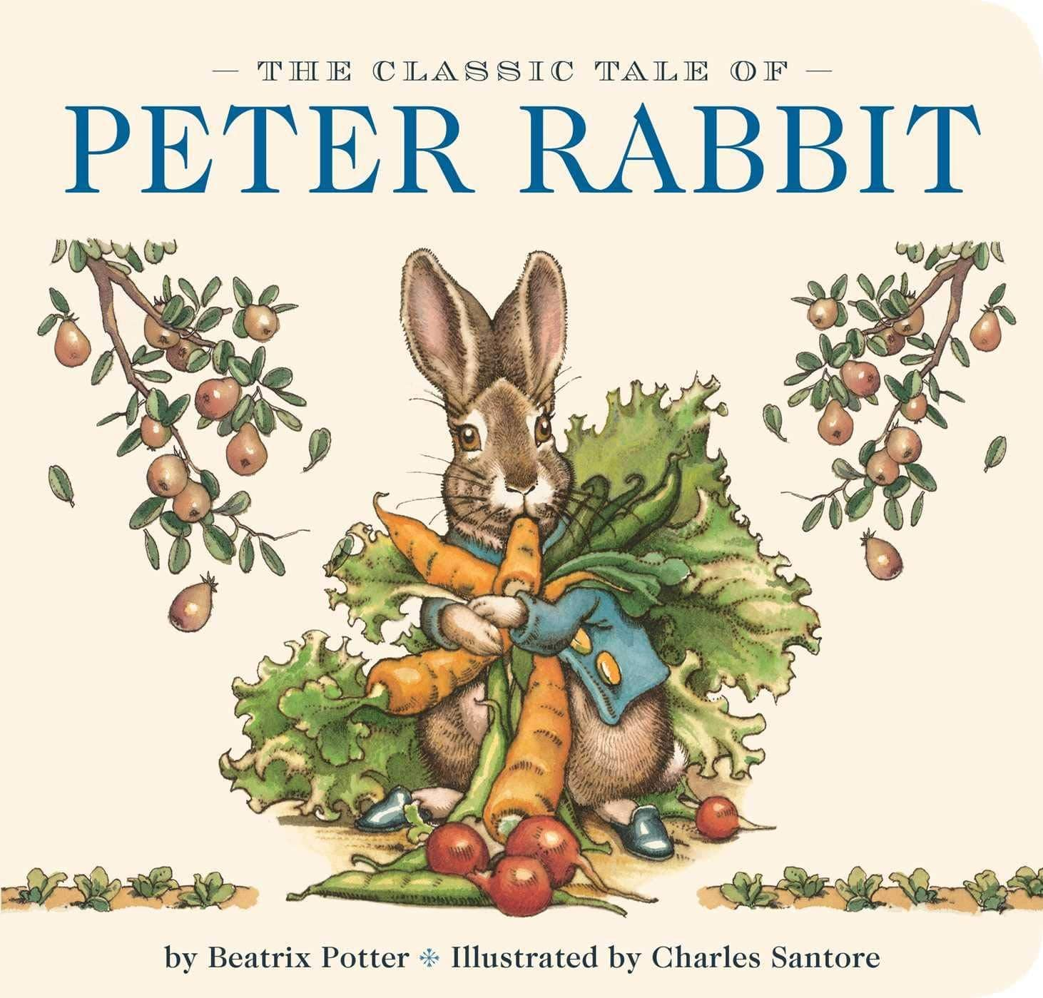 Peter Rabbit (Board Book)-Kidding Around NYC