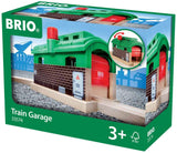 Brio World 33574 - Train Garage - 1 Piece Wooden Toy Train Accessory For Kids Age 3 And Up-Kidding Around NYC