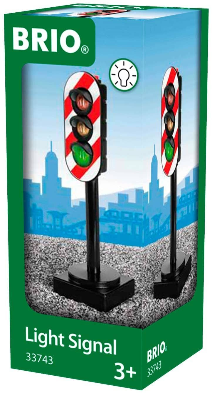 Brio World - 33743 Light Signal | Toy Train Accessory For Kids Ages 3 And Up-Kidding Around NYC
