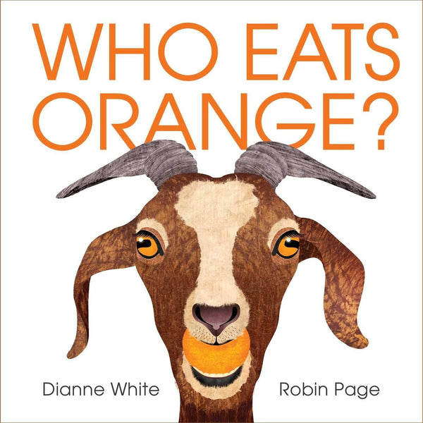Who Eats Orange? (Hardcover)