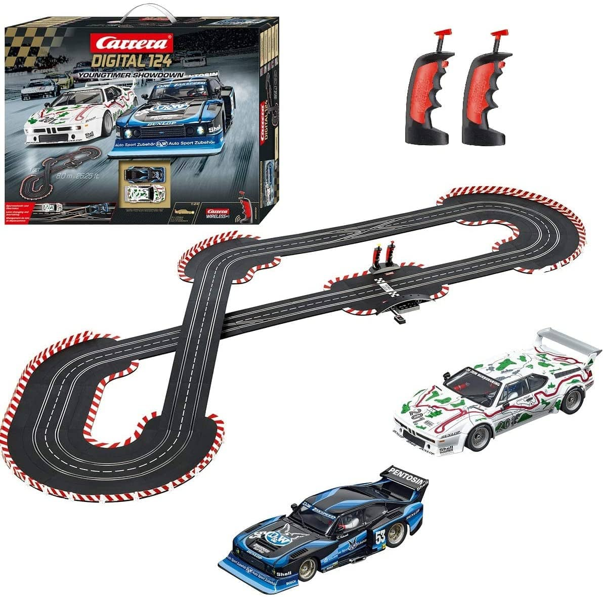 Carrera Digital Race Stars Slot Car Racing System Set-Kidding Around NYC