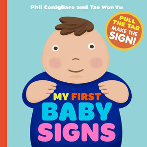 My First Baby Signs (Board Book)-Kidding Around NYC