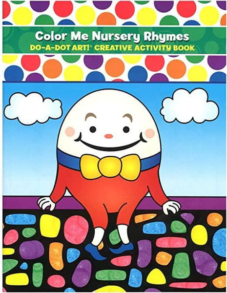 Do A Dot Art:Color Me Nursery Rhymes Coloring Book-Kidding Around NYC