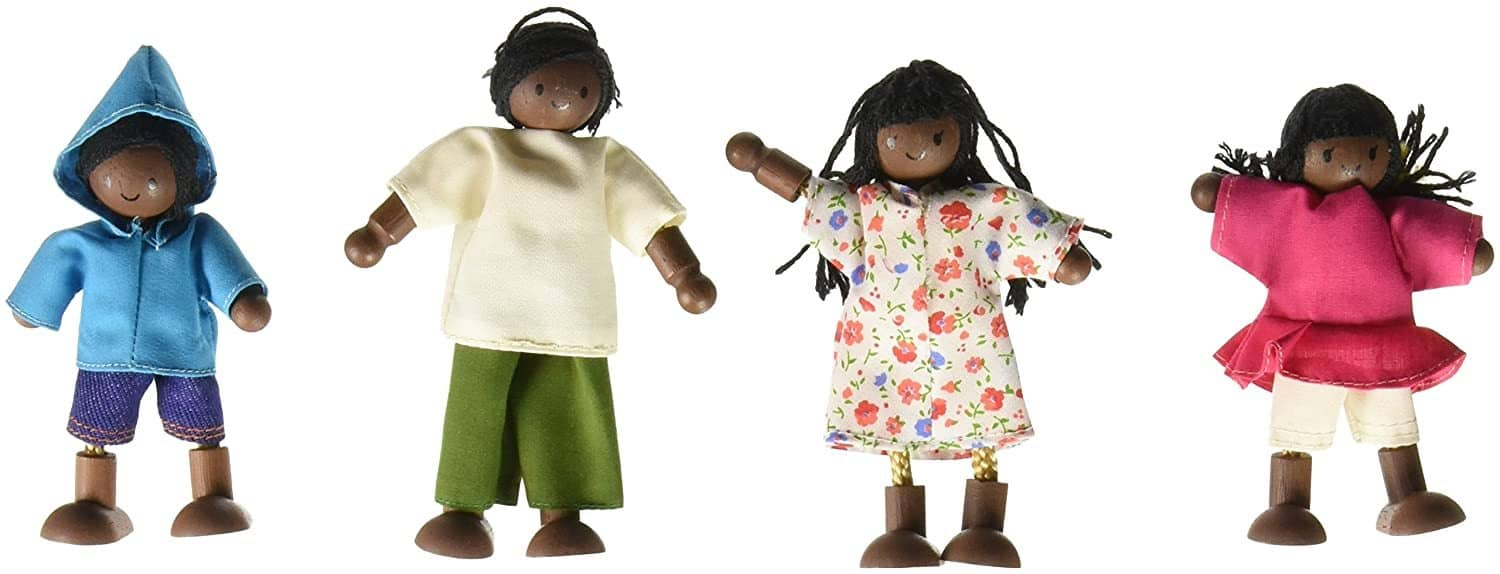 African American Doll Family-Kidding Around NYC