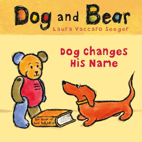 Dog Changes His Name (Dog And Bear Series) (Board Book)-Kidding Around NYC