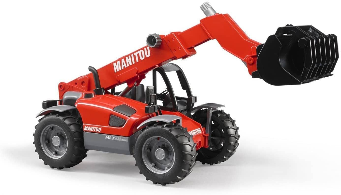 Bruder 02125 Manitou Telescopic Loader MLT 633-Kidding Around NYC