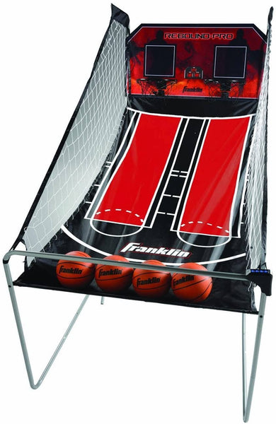 Franklin Sports: Arcade Basketball Game Dual Hoops Rebound Pro