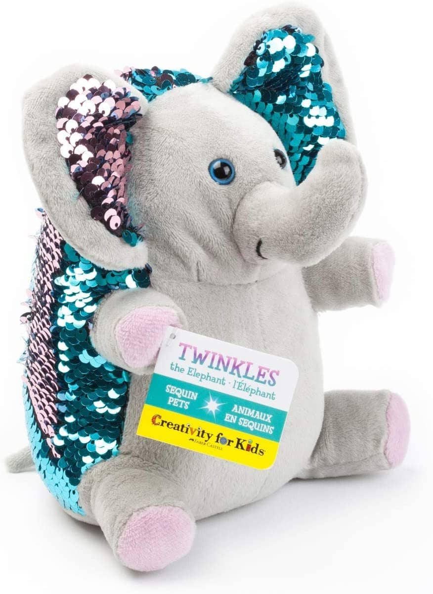 Mini Sequin Pet Twinkles The Elephant-Kidding Around NYC