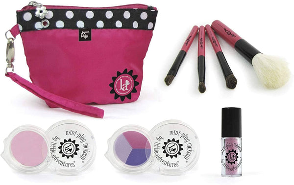 Pink Mini Makeup Clutch Purse