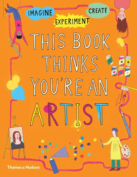 This Book Thinks You'Re An Artist Activity Book-Kidding Around NYC