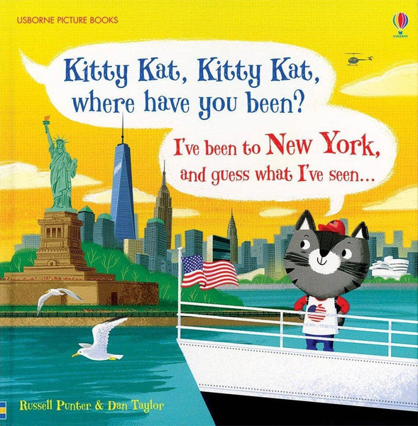 Kitty Kat; Where Have You Been?-Kidding Around NYC