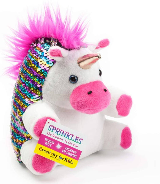 Mini Sequin Pets Sprinkles The Unicorn-Kidding Around NYC