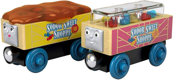 Thomas & Friends Wooden Railway: Candy Cars-Kidding Around NYC