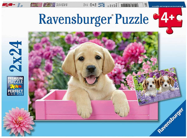 Ravensburger 05029: Me And My Pal Puzzle (Two 24 Piece Jigsaw Puzzles)