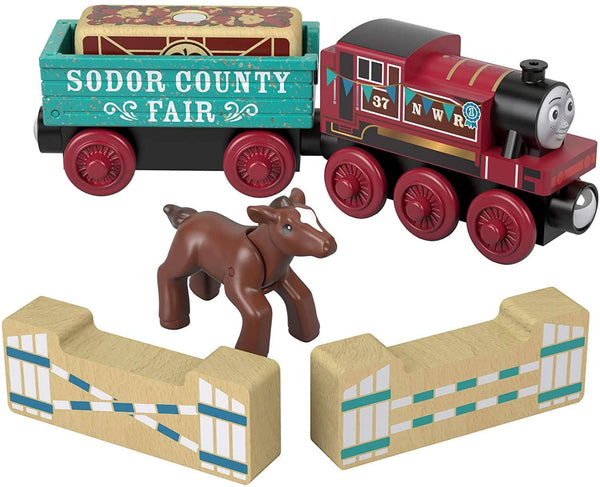 Rosie's Thomas & Friends Wooden Railway: Prize Pony Thomas The Tank-Kidding Around NYC