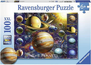 Ravensburger 10853 The Planets (100 Piece Jigsaw Puzzle)-Kidding Around NYC
