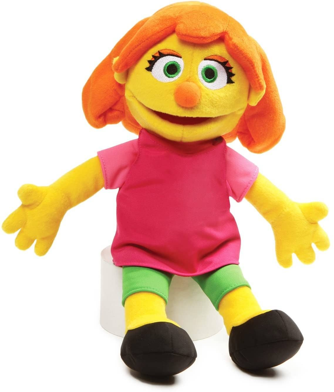 "Gund 4060449 Sesame Street Julia Stuffed Plush, 14""-Kidding Around NYC"