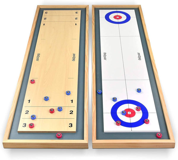 Franklin Sports: 2-in-1 Shuffleboard & Curling
