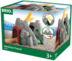 Brio World - 33481 Adventure Tunnel | Toy Train Accessory For Kids Age 3 And Up-Kidding Around NYC