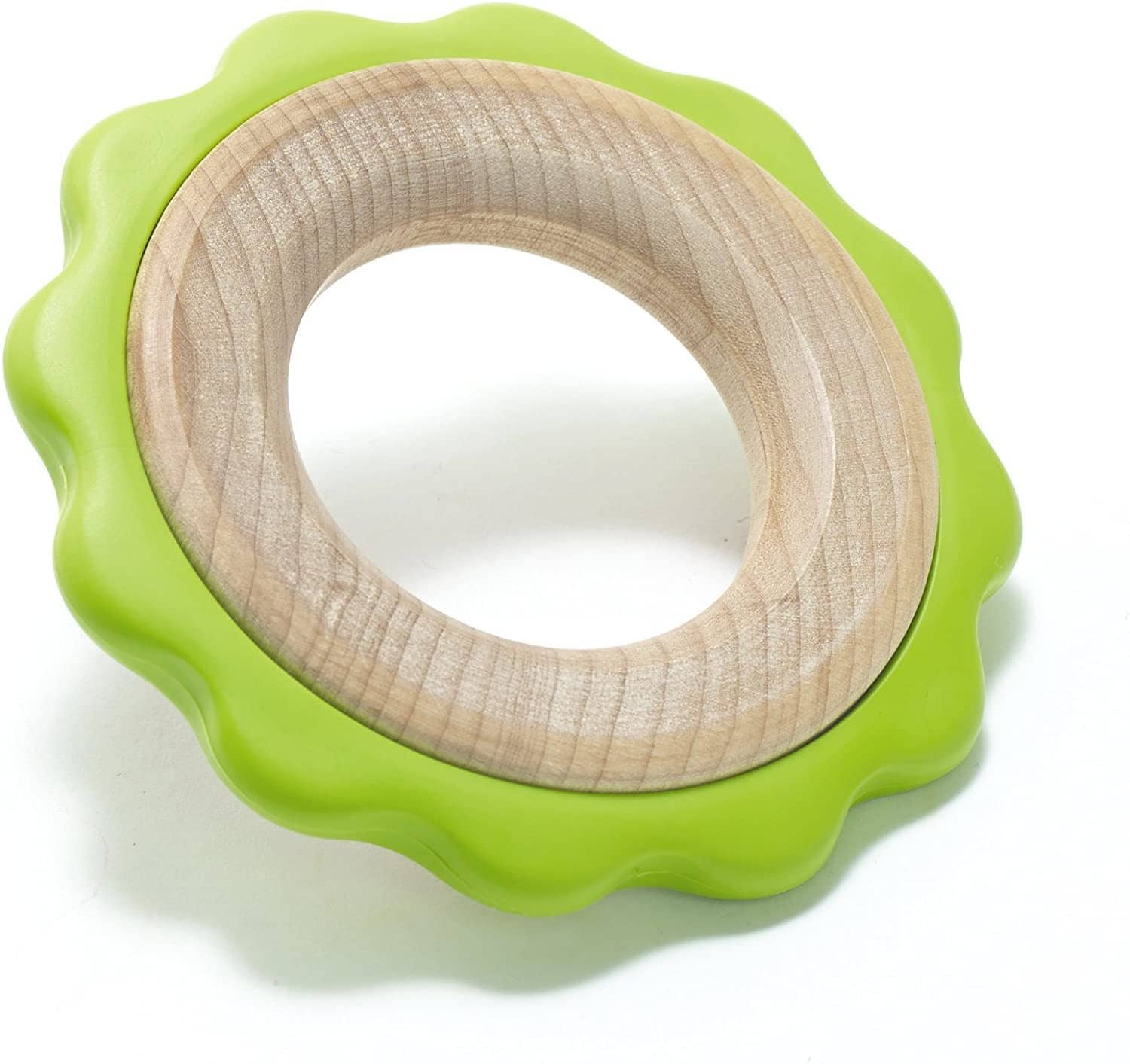 Green Ring Teether-Kidding Around NYC