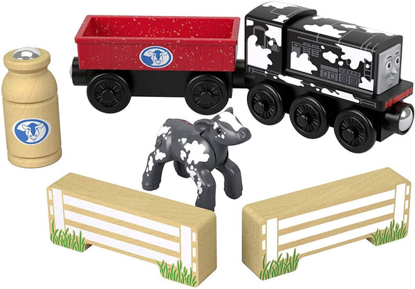 Thomas & Friends Wooden Railway: Diesel's Dairy Drop-Off